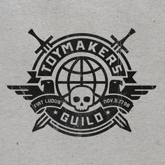 Toymakers Guild Logo — Designed by Albert Campos, great logo!
