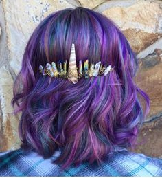 """2,153 Likes, 22 Comments - Pulp Riot Hair Color (@pulpriothair) on Instagram: """"@hairbyjaimie77 is the artist... Pulp Riot is the paint."""""""