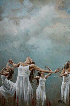 Overflow with Hope Original Fine Art Painting by Maria Magdalena Oosthuizen. Praise Dance, Jesus Painting, Bride Of Christ, Prophetic Art, Jesus Art, Biblical Art, Bible Art, Christian Art, Beautiful Artwork