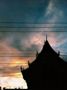Buddhist temple #sky #Light is Beautiful