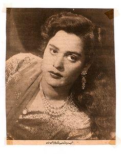 """Stunning """" Mussarat Nazir """" an actress & singer."""
