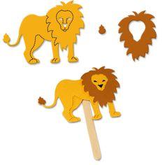 ... about Jungle Crafts on Pinterest | Lion craft, Lion and Jungle safari