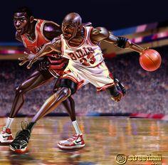 online store 0af77 5304d Basketball Artwork Michael Jordan Painting Jordan Painting, Michael Jordan  Art, Basketball Players, Basketball