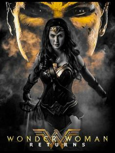 Wonder Woman Movie, Superman Wonder Woman, Cheetah Dc Comics, Amazonian Warrior, Fan Poster, Best Superhero, Fiction Movies, Badass Women, Dc Heroes