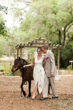 Whimsical Garden Wedding Inspiration Shoot ft a pretty pony! Bumby Photography - see more: http://bridalmusings.com/2013/09/whimsical-garden-wedding-inspiration-shoot/