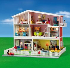 6 dollhouse kits that encourage building and construction: Lundby Smaland Dollhouse