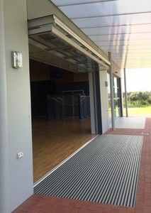 Arco Architectural Systems Glazed Counterweight Balanced Door - Perth