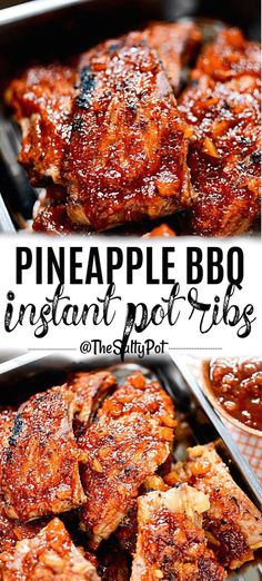 The Rise Of Private Label Brands In The Retail Meals Current Market Pineapple Bbq Instant Pot Ribs. These Ribs Are Incredibly Delicious And Easy To Make Sweet And Tangy, These Instant Pot Ribs Are Tender With That Tropical Flavor Crock Pot Recipes, Pork Rib Recipes, Meat Recipes, Cooking Recipes, Smoker Recipes, Bbq Ribs, Barbecue, Instant Pot Ribs Recipe, Instant Pot Dinner Recipes
