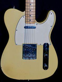 Fender Telecaster 1969 Blonde owned by Ben Harper | Reverb