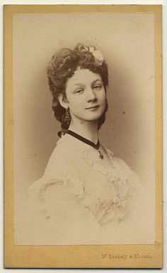 photographer: Dr Székely & Massak - Wien / Austria ca:1870s
