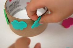 Easy Kid-Made Stamp Wheels - Inner Child Fun