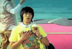 When I see my kpop biases shirtless :).... Lol or just seeing them in general