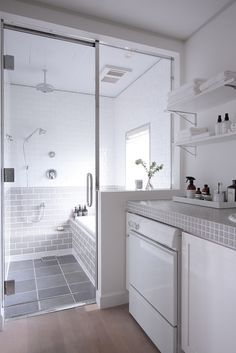 We're gathering 48 of our favorite affordable bathroom decorating ideas for tran. - We're gathering 48 of our favorite affordable bathroom decorating ideas for transforming your space from basic to chic. Bathroom Decor Sets, Bathroom Renos, Bathroom Ideas, Shower Ideas, Bathroom Renovations, Bathroom Makeovers, Bathroom Bin, Bathroom Plans, Bathroom Showers