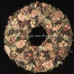 My homemade wreath by Silvia Hokke