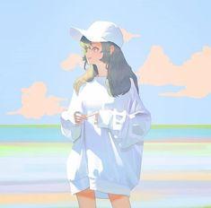 Girls Anime, Anime Art Girl, Manga Art, Manga Anime, Anime Kawaii, Arte Do Kawaii, Aesthetic Art, Aesthetic Anime, Pretty Art