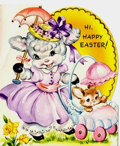 """♥ Again, I would photoshop the word """"Easter"""" out of them if I used them. Ostara"""