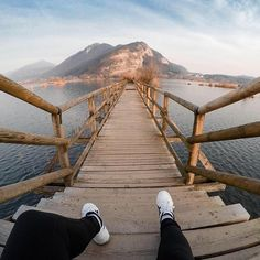 Photo of the Day: @alballeshi took a break from her #SundayMorning stroll to admire the landscape of Iseo, #Italy. Where did you explore this #weekend? Share your views with us at gopro.com/awards.  • • • @GoProIT #GoProIT #GoProTravel #POV #WeekendAdventure #GetOutside