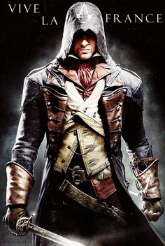 Arno Dorian, Assassin's Creed: Unity I wish this was coming out on WiiU :.(