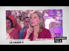 """Quand Michèle Laroque imite Nabilla, la star des Anges de la téléréalité 5, avec son célèbre """"Allo ?"""".    - Suivre nos zappings sur Facebook : http://www.facebook.com/pageLEZAPPING    Mais aussi le plus grand fan de Mylène Farmer dans l'émission Stars et"""