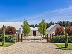 1317 Daylesford-Trentham Road, Lyonville, Vic 3461 – Property Details - All For Decoration Cottage Exterior, Modern Farmhouse Exterior, Industrial Farmhouse, Vintage Industrial, Industrial Style, Garden Design, House Design, Design Design, Daylesford