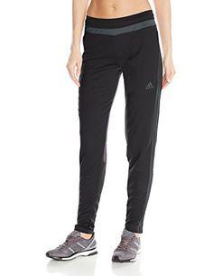 adidas Performance Women's Tiro 15 Training Pants, Black/Dark Grey, X-Large - http://www.exercisejoy.com/adidas-performance-womens-tiro-15-training-pants-blackdark-grey-x-large/athletic-clothing/