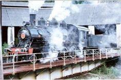 spanishrailway.com - L. OrtizEl depósito de locomotoras y el puente giratorio