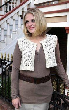 Bijou Basin Ranch - Spade Lace Vest Pattern, $6.00 (http://www.bijoubasinranch.com/spade-lace-vest-pattern/)