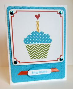 Paper Seedlings #mds #hybrid #cupcake #birthday #cardmaking