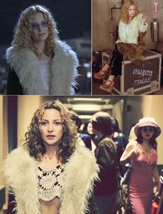 Stylish film-inspired Halloween costume idea: Kate Hudson aka Penny Lane from Almost Famous #style #fashion #70s
