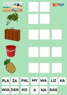 Plansze edukacyjne -| Słówka Montessori, Education, Kids, Puzzle, Speech Language Therapy, Young Children, Children, Riddles, Kid