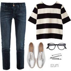 193 by szum on Polyvore featuring moda, MiH Jeans, Zara, STELLA McCARTNEY, Lanvin and BOBBY