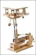 Timberkits Bi-Plane Bois Kit Automate À Assembler Soi-même