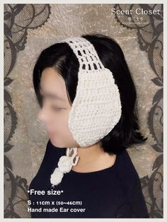 Earmuffs, Diy And Crafts, Crochet Necklace, Crochet Hats, Clothes, Fashion, Knitting Hats, Outfits, Moda