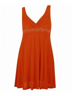 Royal Orange Dress up to 4x