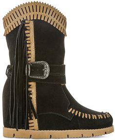 Mojo Moxy Nomad Western Wedge Boots | macys.com