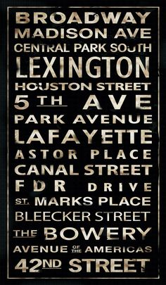 Transit NYC Streets