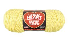 Lemon Super Saver Economy Yarn   Red Heart