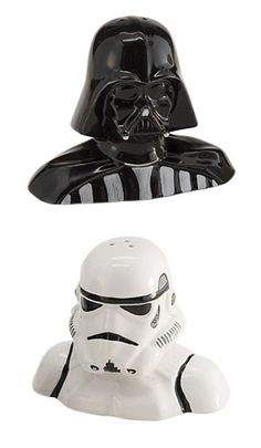 Star Wars Salt + Pepper Shakers