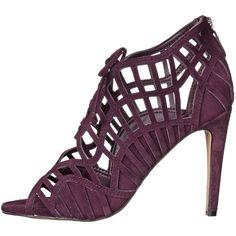Dolce Vita Women's Tinlie Dress Pump ($36) ❤ liked on Polyvore featuring shoes, pumps, dolce vita shoes, caged pumps, dolce vita footwear, strappy shoes and strap pumps