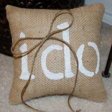 Ring Bearer Ring Pillows & Ring Holders