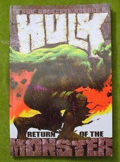 Marvel Comics Graphic Novel Incredible Hulk Return Of The Monster First Printing