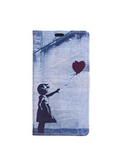 Housse Samsung Galaxy J5 2017 Flying Heart - Gris