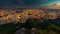 Hongkong from a Hill