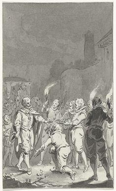 Karel V, Duits keizer, ontvangt de sleutels van de poorten en de roede van justitie van Utrecht, Jacobus Buys, 1787 - 1789