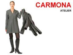 Wollkleid mit Mantel