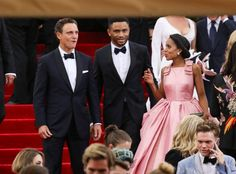 Pin for Later: The 59 Most Memorable Moments From Past Met Galas Tony Goldwyn, Nnamdi Asomugha, and Kerry Washington — 2015