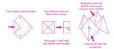 Askartele filosofinen paperikirppu - Ajatusrinki