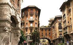 Rom, Quartiere Coppedè (Coppedè-Viertel / Coppedè Quarter)