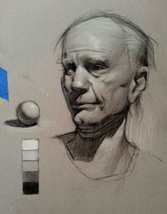 Malin Falch: visual developer | Life drawings