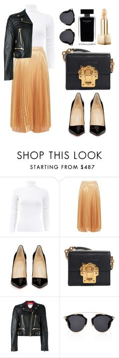 """""""Untitled #168"""" by ivanov1234491 ❤ liked on Polyvore featuring Michael Kors, Nicole Miller, Christian Louboutin, Dolce&Gabbana, Moschino, Christian Dior, Narciso Rodriguez and Burberry"""